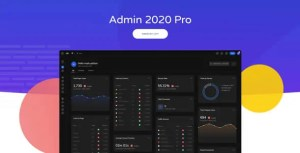 Read more about the article Admin 2020 2.0.9.2 NULLED – Modern WordPress Admin Panel