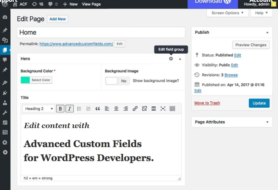 You are currently viewing Advanced Custom Fields Pro 5.10.2 – WordPress Advanced Custom Fields