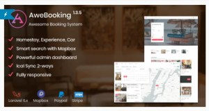 Read more about the article AweBooking 1.5.1 – Awesome Booking System