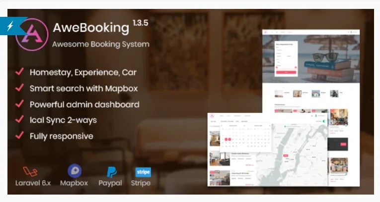 You are currently viewing AweBooking 1.5.1 – Awesome Booking System