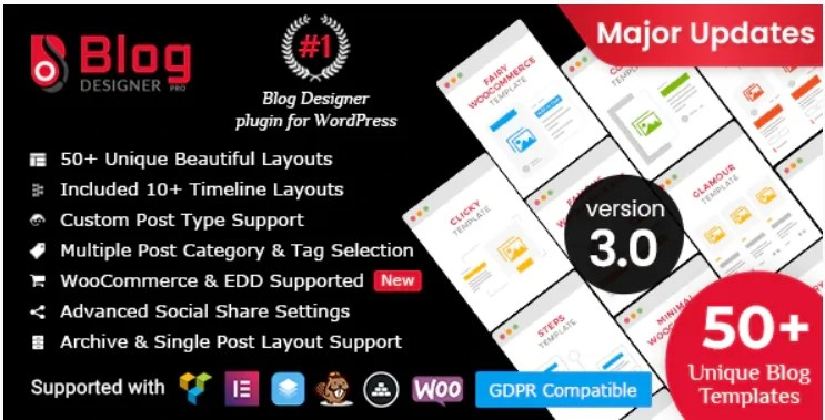 You are currently viewing Blog Designer PRO 3.3 NULLED – WordPress News Builder