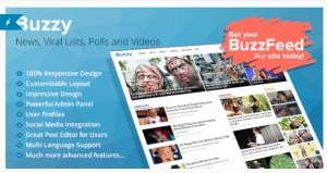 Read more about the article Buzzy 4.0.1 Nulled – News, Viral Lists, Polls and Videos