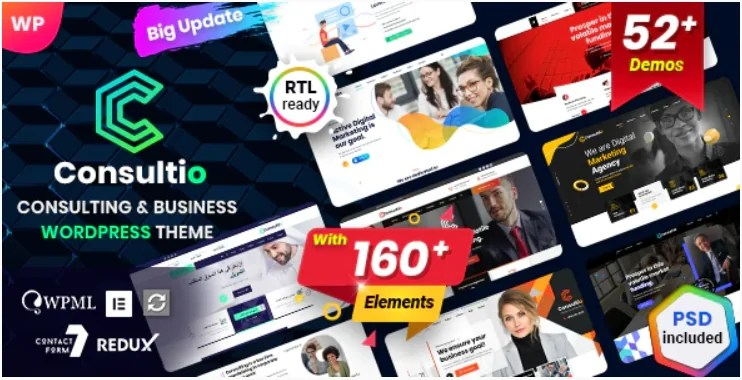 You are currently viewing Consultio 2.6.0 – Consulting Corporate WordPress Theme