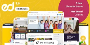 Read more about the article Ed School 3.9.0 – Education WordPress Theme