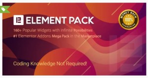 Read more about the article Element Pack 5.11.0 Nulled – Addon for Elementor Page Builder WordPress Plugin