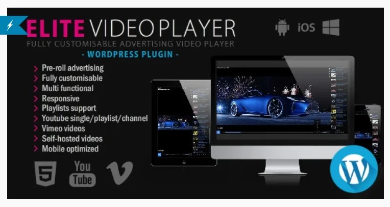 You are currently viewing Elite Video Player 6.5.7 – WordPress plugin