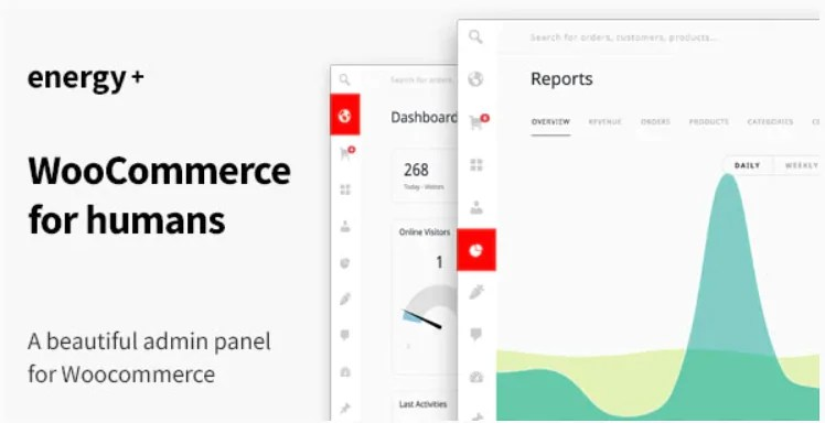 You are currently viewing Energy+ 1.2.6 Nulled – A beautiful admin panel for WooCommerce