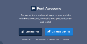 Read more about the article Font Awesome Pro 6.0.0 – Font Script