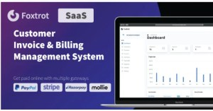 Read more about the article Foxtrot SaaS 1.0.6 – Customer, Invoice and Expense Management System