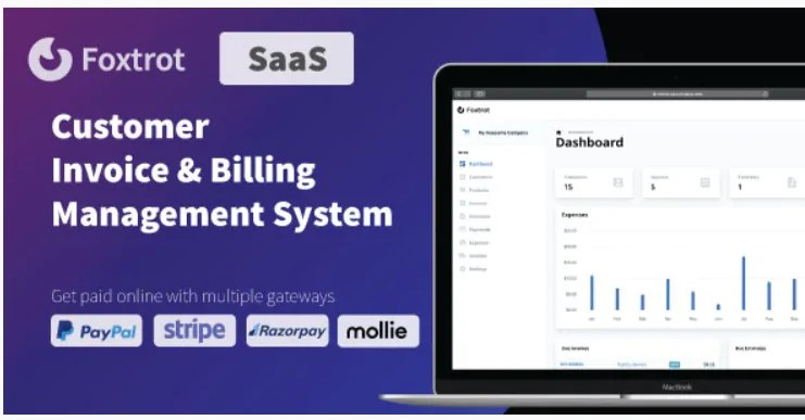 You are currently viewing Foxtrot SaaS 1.0.6 – Customer, Invoice and Expense Management System
