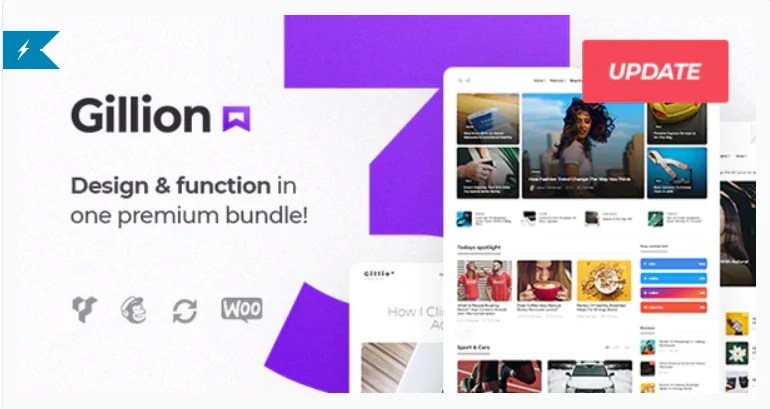 You are currently viewing Gillion 4.0.2 – Multi-Concept Blog/Magazine & Shop WordPress AMP Theme