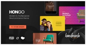 Read more about the article Hongo 2.1 Nulled – Modern & Multipurpose WooCommerce WordPress Theme