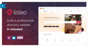 Read more about the article Listeo 1.6.33 Nulled – Directory & Listings With Booking – WordPress Theme