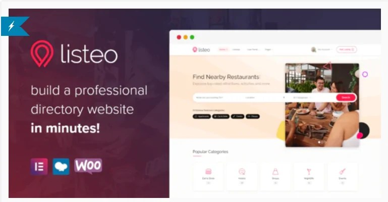 You are currently viewing Listeo 1.6.33 Nulled – Directory & Listings With Booking – WordPress Theme