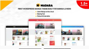 Read more about the article Madara 1.7.1.1 – WordPress Theme for Manga