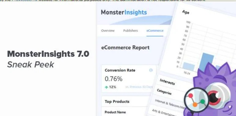 You are currently viewing MonsterInsights Pro 7.15.0 NULLED – Google Analytics WordPress Plugin