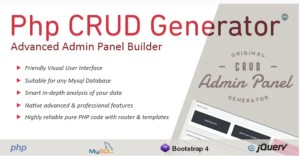 Read more about the article PHP CRUD Generator 1.7.7 NULLED
