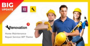 Read more about the article Renovation 4.2.4 – Home Maintenance Elementor WP Theme