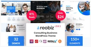 Read more about the article Reobiz 4.1 – Consulting Business WordPress Theme