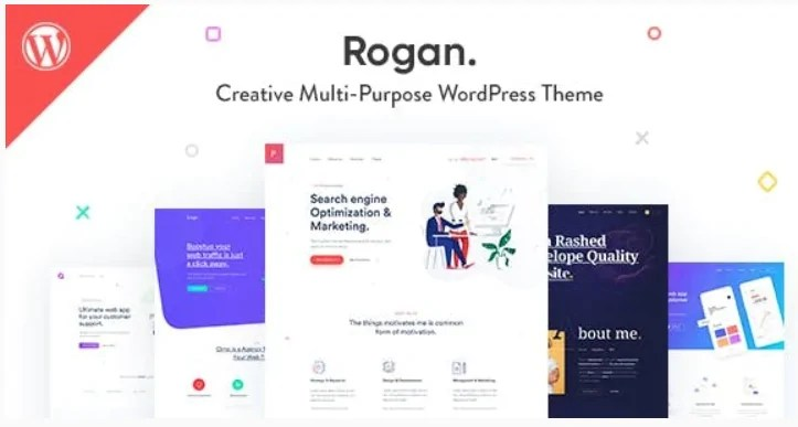 You are currently viewing Rogan 1.7.5 – Creative Multipurpose WordPress Theme for Agency, Saas, Portfolio