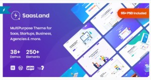 Read more about the article Saasland 3.3.4 Nulled – MultiPurpose WordPress Theme for Saas Startup