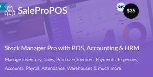 Read more about the article SalePro 3.3.8 NULLED – Inventory Management System with POS