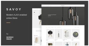 Read more about the article Savoy 2.5.9 – Minimalist AJAX WooCommerce Theme
