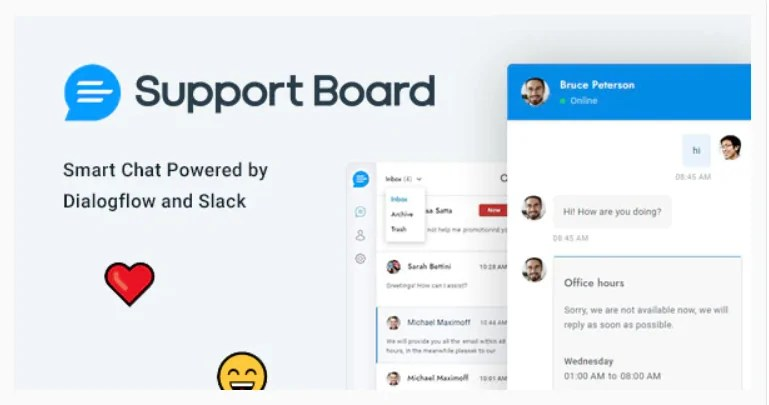 You are currently viewing Support Board 3.3.3 – WordPress Chat Plugin