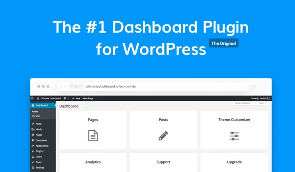 Read more about the article Ultimate Dashboard PRO 3.5.1 – Custom WordPress Admin Panel