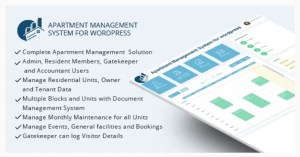 Read more about the article WPAMS 31.0 Nulled – Apartment Management System for wordpress