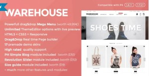 Read more about the article Warehouse 4.5.0 – Responsive Prestashop 1.6 & 1.7 theme