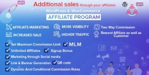 Read more about the article WordPress & WooCommerce Affiliate Program 4.0.0 NULLED