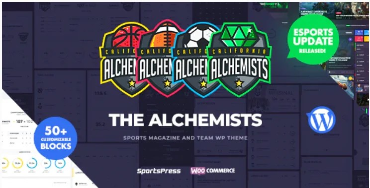 You are currently viewing Alchemists 4.4.6 Nulled – Sports, eSports & Gaming Club and News WordPress Theme