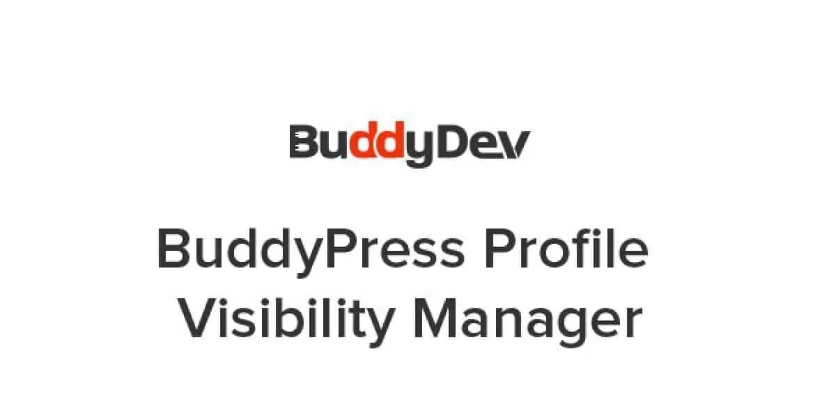 You are currently viewing BuddyPress Profile Visibility Manager 1.8.6
