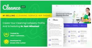 Read more about the article Cleanco 3.2.2 – Cleaning Service Company WordPress Theme