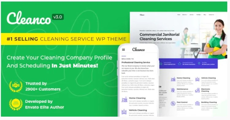 You are currently viewing Cleanco 3.2.2 – Cleaning Service Company WordPress Theme