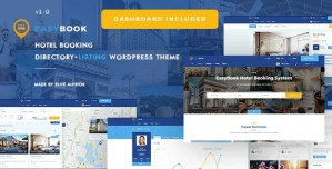 Read more about the article EasyBook 1.3.6 – Hotel & Tour Booking WordPress Theme