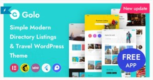 Read more about the article Golo 1.4.5 – Directory & Listing, Travel WordPress Theme