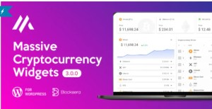 Read more about the article Massive Cryptocurrency Widgets 3.1.8 – Crypto Plugin
