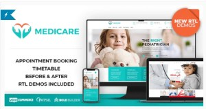 Read more about the article Medicare 1.8.7 – Doctor, Medical & Healthcare WordPress Theme