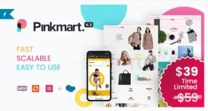 Read more about the article Pinkmart 3.1 Nulled – AJAX theme for WooCommerce