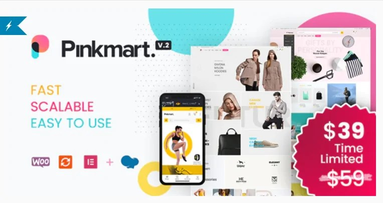 You are currently viewing Pinkmart 3.1 Nulled – AJAX theme for WooCommerce