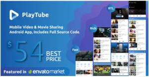 Read more about the article PlayTube 2.3 – Mobile Video & Movie Sharing Android Native Application
