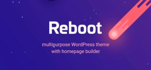 Read more about the article Reboot 1.4.5 NULLED – MultiPurpose WordPress Theme With HomePage Builder