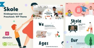 Read more about the article Skole 5 NULLED – Kindergarten WordPress Theme