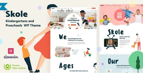 You are currently viewing Skole 5 NULLED – Kindergarten WordPress Theme