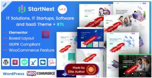 Read more about the article StartNext 4.4.0 Nulled – Elementor IT & Business Startup WP Theme