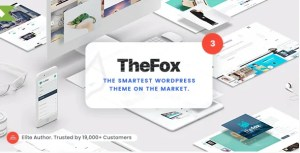 Read more about the article TheFox 3.9.9.9.40 NULLED – Responsive Multi-Purpose WordPress Theme