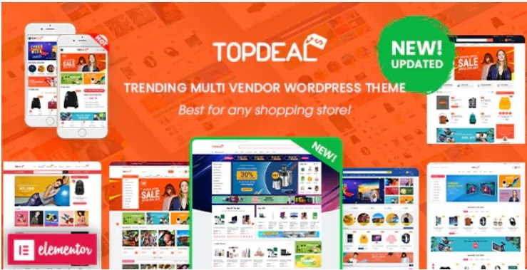 You are currently viewing TopDeal 2.1.3 Nulled – Multi Vendor Marketplace Elementor WooCommerce WordPress Theme