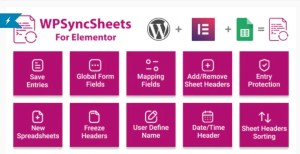 Read more about the article WPSyncSheets For Elementor 3.2 – Elementor Pro Form Google Spreadsheet Addon